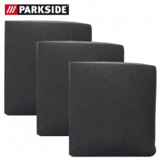 Filtru din burete pentru aspirare umeda din burete lavabil (negru) set