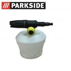 Lance spumare cu recipient detergent pentru aparatele de spalat cu presiune